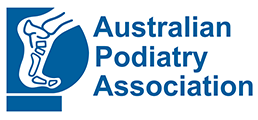 Australian podiatry association logo