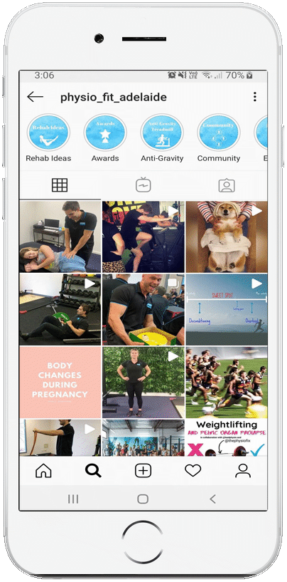 physiofit adelaide iphone app