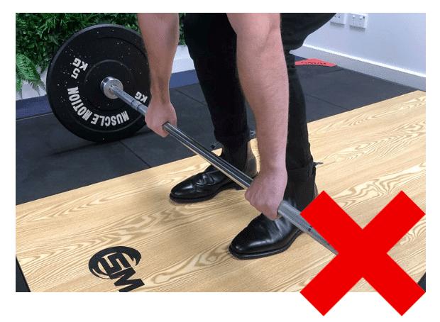 5 Incorrect Feet Placement Deadlift