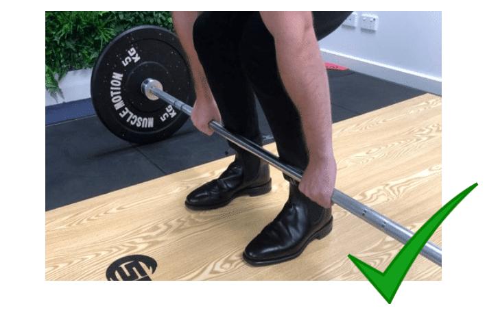 6 Correct Feet Placement Deadlift