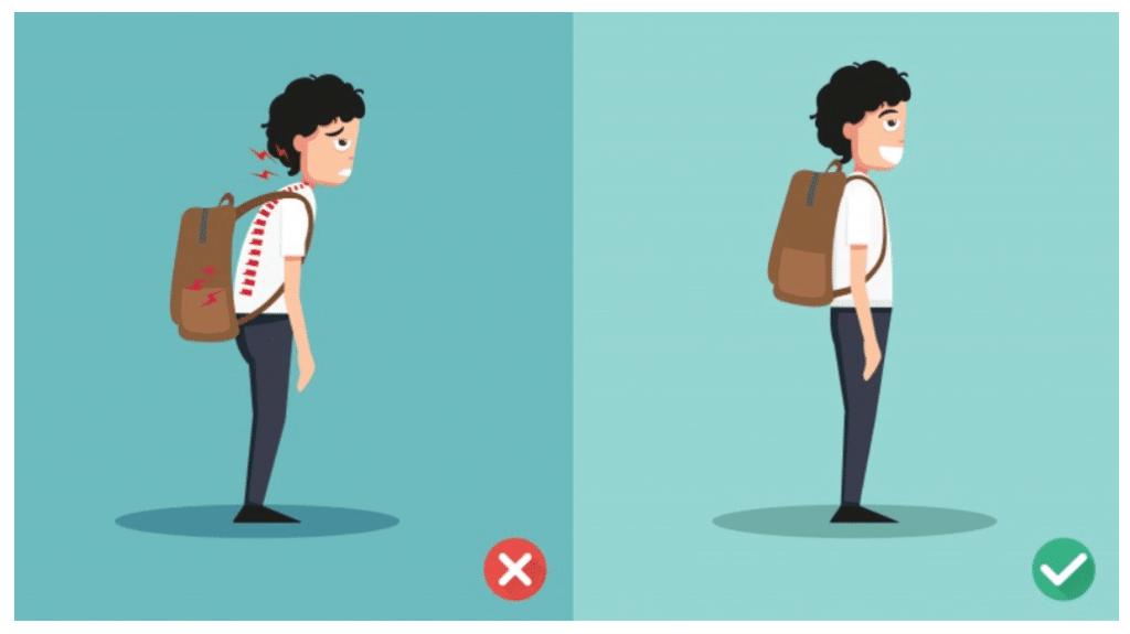 Backpack Posture Image