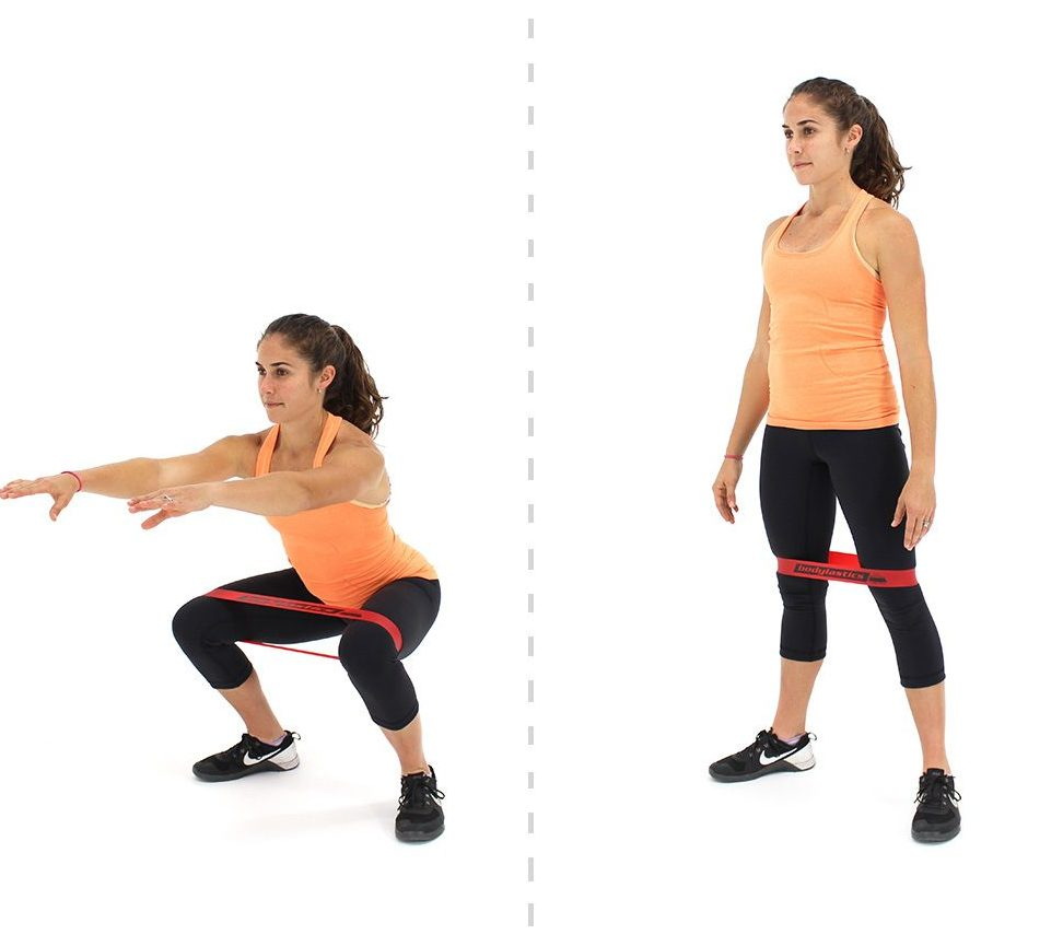 Banded Squat Exercises