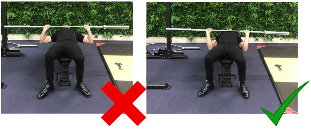 Barbell Bench Press Elbow Position