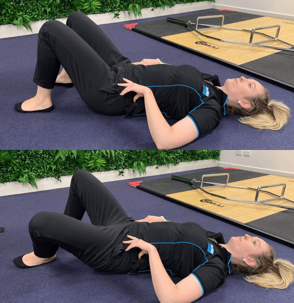 Bent Knee Adductor Exercise 1