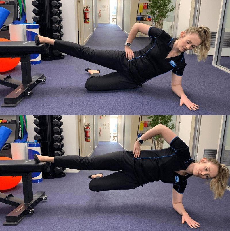 Copenhagen Hip Adductor Exercise