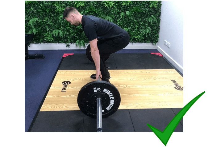Correct Deadlift Technique And Position Blog Post
