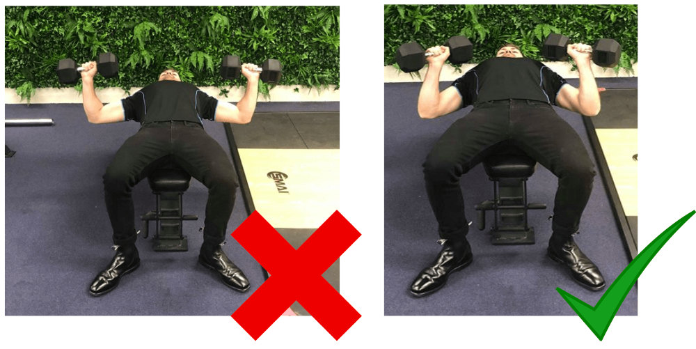 Elbow Position For Dumbell Bench Press