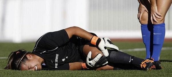 Female Footballer Acl Injury