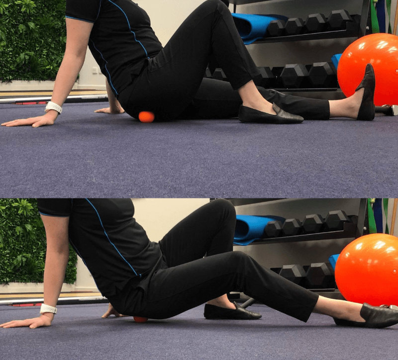 Glute Release Exercise