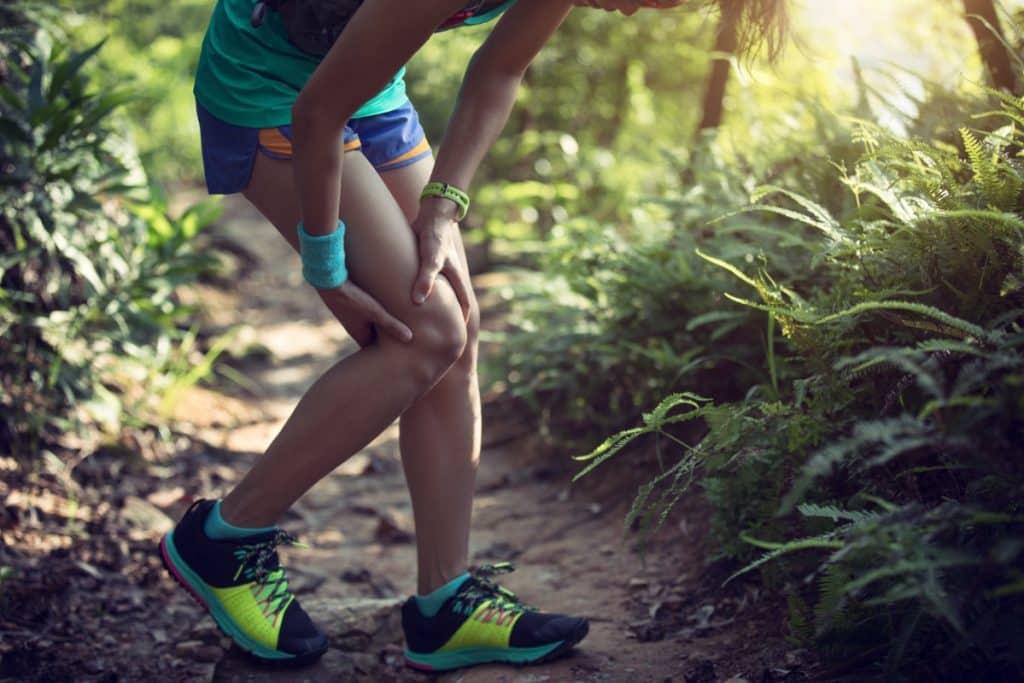 injured knee ruptured ACL