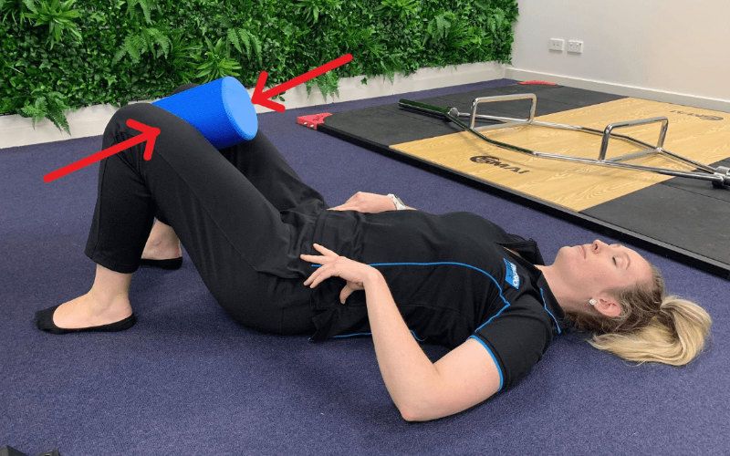 Isometric Adductor Squeeze Exercise