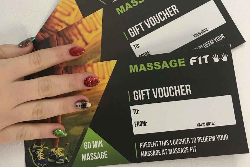 Massage Gift Vouchers Adelaide