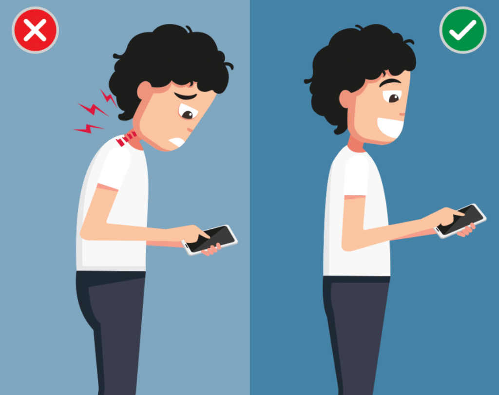 Mobile Phones And Posture