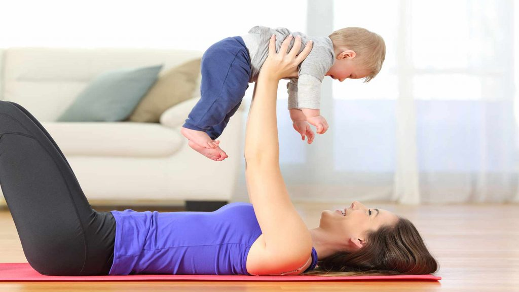 Mother And Baby Pelvic Floor