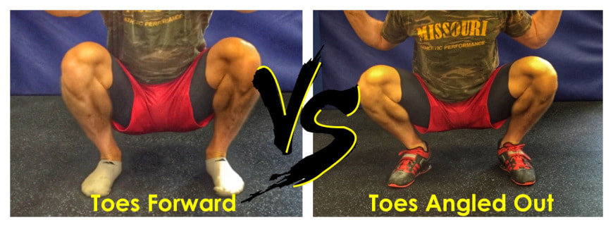 Toes Forward Or Angled Out For Squats