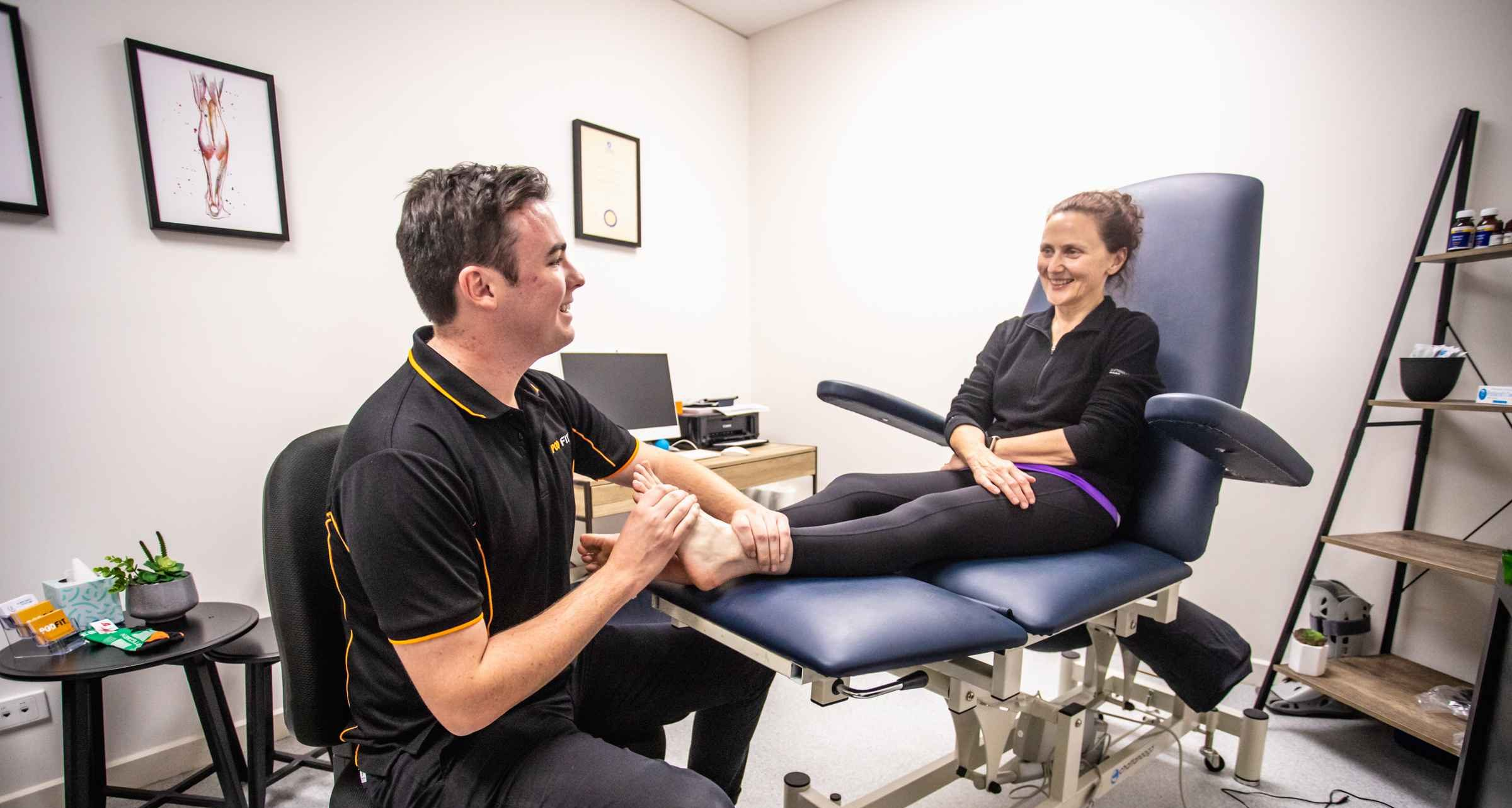 Physio Foot And Ankle Treatment