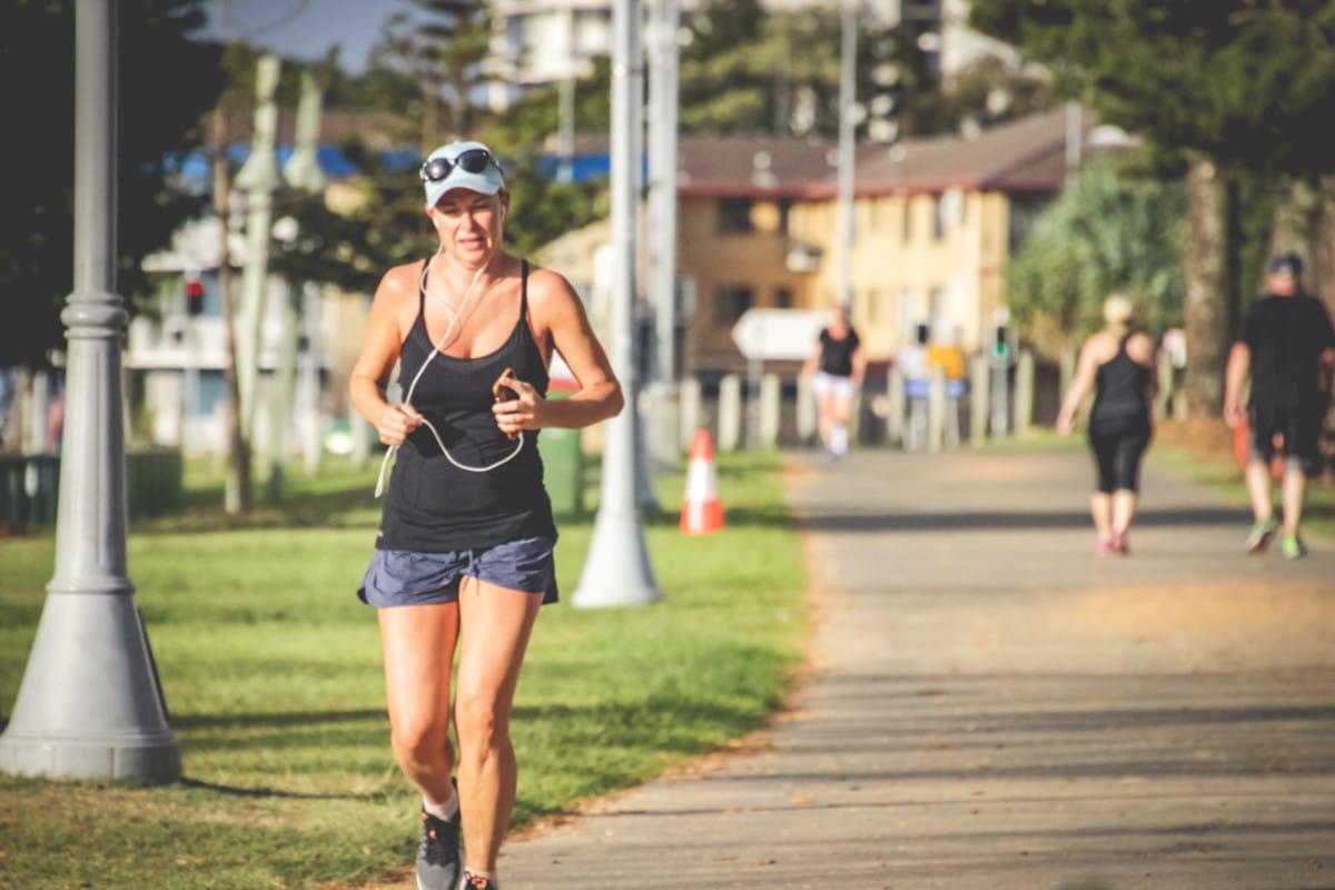 Runner In Australia